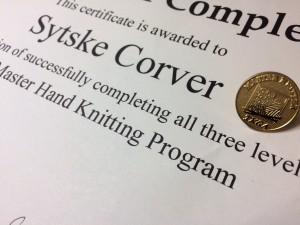 Sytske, Master of Hand Knitting, dec 2016