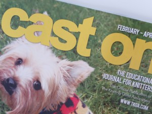 Cover of Cast On Magazine