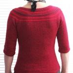 Achterkant Haute Couture vestje Sytske Corver