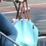 Blauwe tas