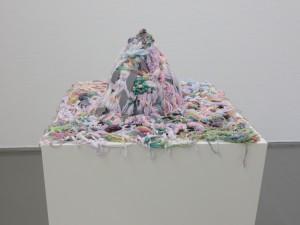 Alexandra Bircken, Zuckerberg, 2005, wool, textile