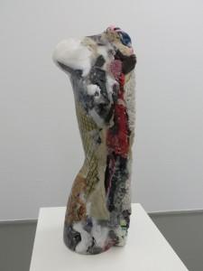 Alexandra Bircken, 1/2 Torso, 2013, textiles, was