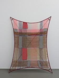 Alexandra Bircken, Insert, 2009, wool, fibre, stainless steel, rubber