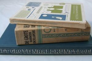 Boeken uit de kringloopwinkel