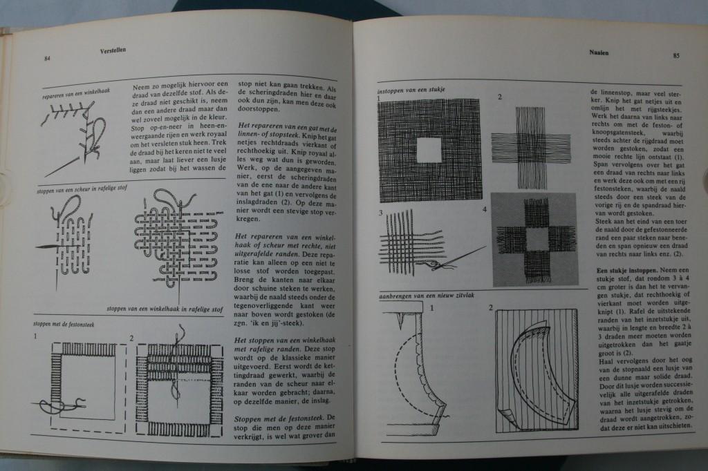 Uit: De Grote Handwerkencyclopedie, Zomer & Keuning, 1969