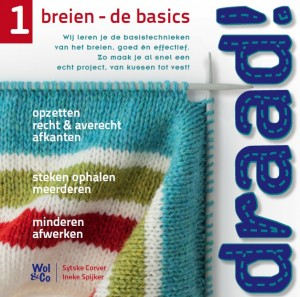 Voorkant Draad 1 breien - de basics