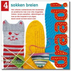 Wol & Co cover Draad!4 sokken breien